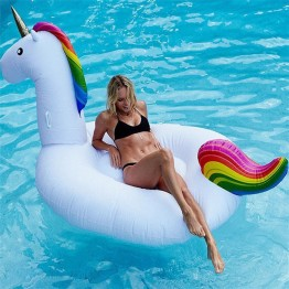 The Largest Inflatable Unicorn For Use In The Pool, Pond, Lake, And Ocean