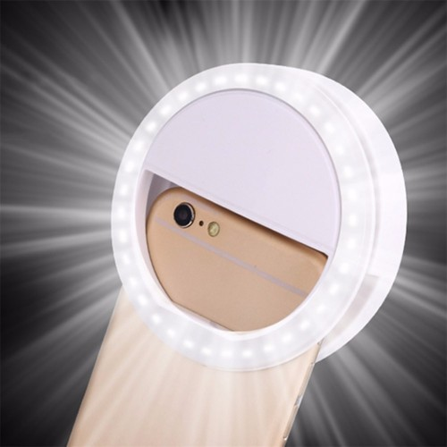 The Perfect Selfie - 36 LED Light Ring Portable Flash Camera Phone Case Cover Photography Enhancing