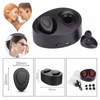 HD Super Small Bluetooth Wireless Earbuds With Charging Box32835978220