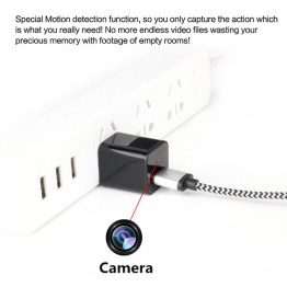 Full 1080P HD Hidden USB Spy Charger Camera