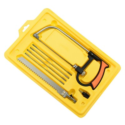 The Most Versatile Hand Saw On The Market Quality 8 in 1 Hacksaw 6 Blades With Box32813036528