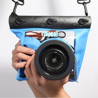 Universal Underwater Diving Camera Case Waterproof SLR DSLR Camera Bag High Quality For Nikon / Cannon32826085233