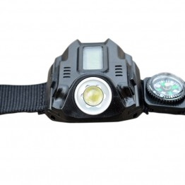 Waterproof LED Tactical Rechargeable LED Light Watch