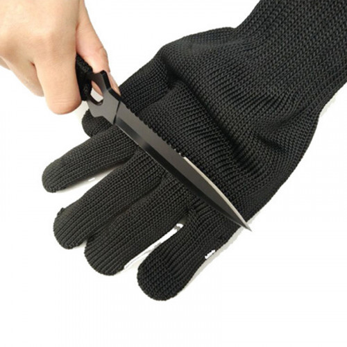 World's Strongest Cut - Resistant Light Weight Stainless Steel Wire Butcher Gloves